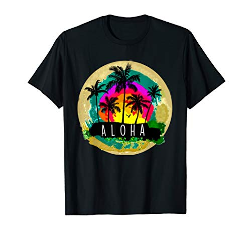 Vintage Hawaiian Islands Tee Hawaii Aloha State T-Shirt