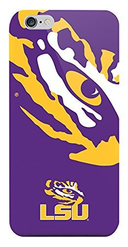 (NCAA - iPhone 6/6s Oversized Logo Case - LSU TIGERS)