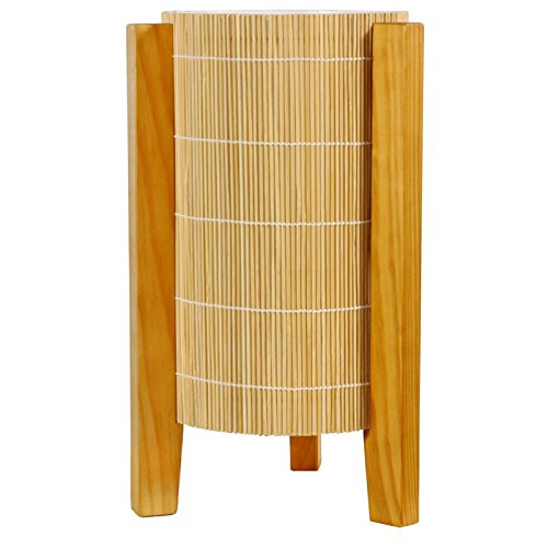 Bamboo Table Light (Oriental Furniture 13