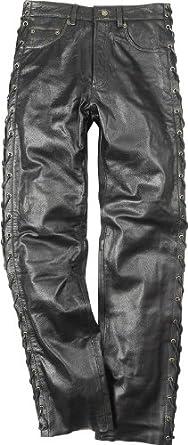 exquisite handwerkskunst Kaufen Sie Authentic neue Fotos Lederhose Buffalo schwarz - Biker, Western, Motorradhose Jeans - INCH  Größen - Motorrad & Freizeit - Neu - Top Qualität, Farbe:Schwarz;Hosen  Größe:26