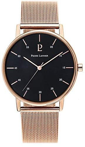 Pierre Lannier City Line Rose Gold Milanese Ladies Watch