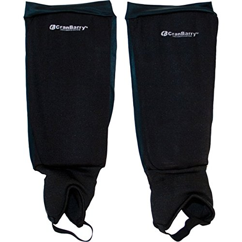 (CranBarry Deluxe Field Hockey Shin Guard for Adults)