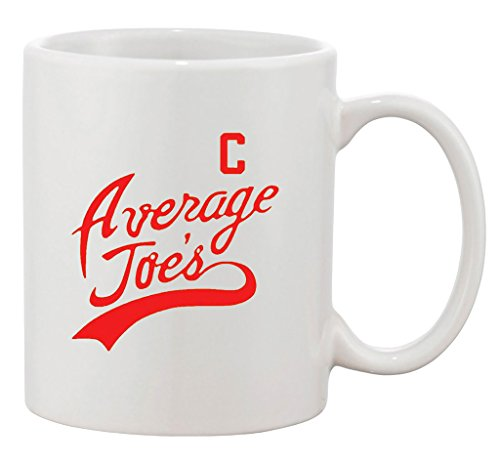 Average Joe's Movie Costume Dodge Ball Halloween DT Ceramic White Coffee Mug - Globo Gym Dodgeball Costumes