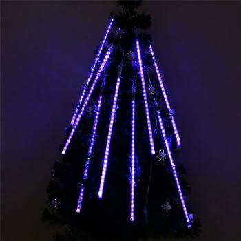 perfect holiday 50cm 8 tubes 240 leds shower meteor rain light tube christmas holiday decoration - Tube Christmas Lights