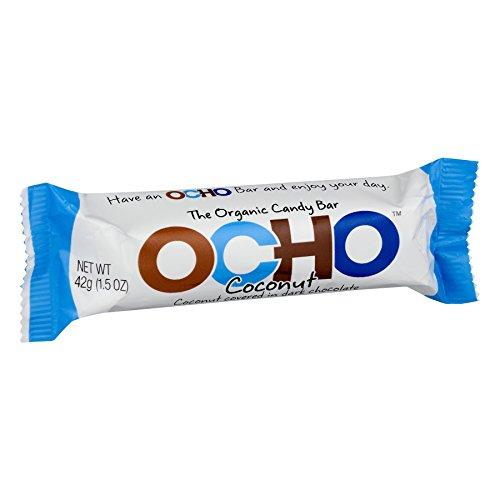 - OCHO Organic Candy Bar, Coconut, 1.5 Ounce (Pack of 18)