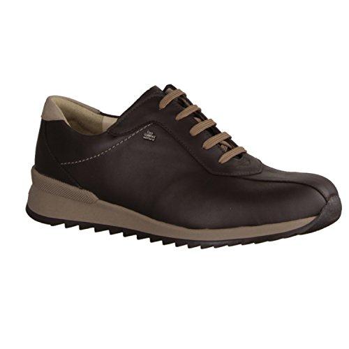 Finn Comfort Sarnia 901344 - Zapatos de cordones de Piel para mujer Marrón marrón 16 Marrón - marrón