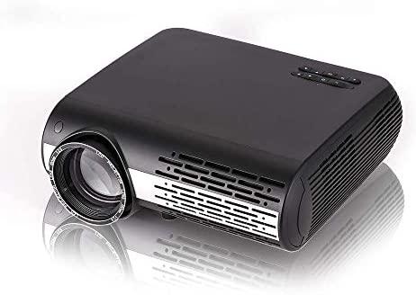 AI LIFE 16000 lúmenes Proyector Inteligente de Video LCD LED Bluetooth Incorporado en 2 Cajas de Sonido HI-FI Proyector de Cine WiFi 1080P Full HD con ...