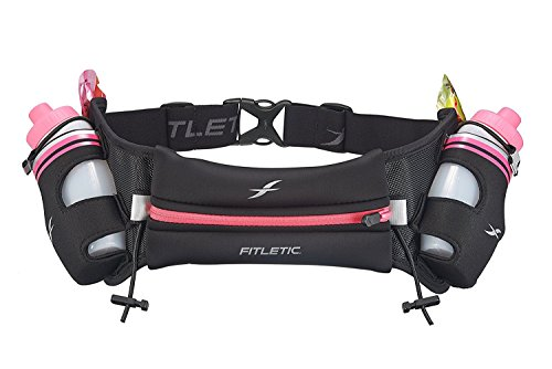 Hydration Belts for Women by Fitletic | Black and Pink, Small / - Running Trail Sunglasses