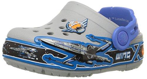 crocs Unisex-Kinder CrocsLights Star Wars X-Wing Clog Mehrfarbig (Multi)
