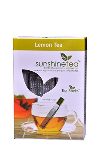 (Sunshine Lemon Tea Tea - 10 Tea Sticks - Promotional Offer @ $ 9.99 only)