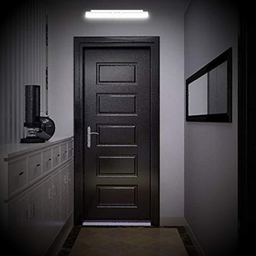 BXROIU LED Night Light Motion Sensor USB Rechargeable,Removable Coat Hook Sensor Wardrobe Lighting for Room, Hallway, Basement, Garage, Closet (Cold White)