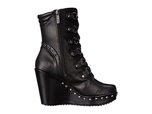 Harley Davidson Sandra botas de estilo motero Negro de cuero para Mujer