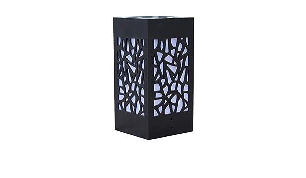 VijTIAN - Lámpara de pie para exteriores con luz solar, para jardín, césped, paisaje, iluminar tu espacio al aire libre, añadir encanto a tu casa: Amazon.es: Iluminación