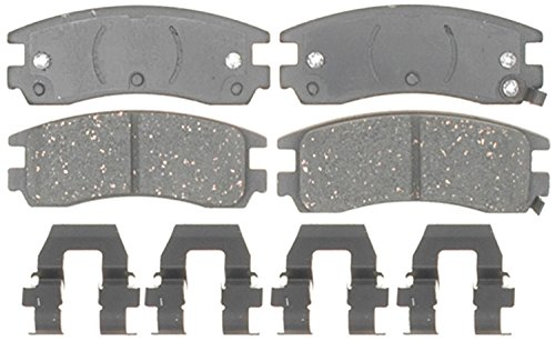 ACDelco 17D714CH Professional Ceramic Rear Disc Brake Pad Set