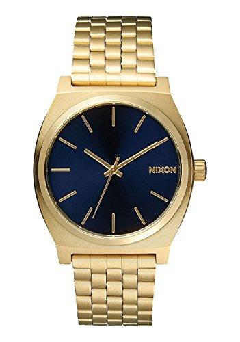 Nixon Time Teller Unisex Watch A045 1931 All Light Gold / Cobalt