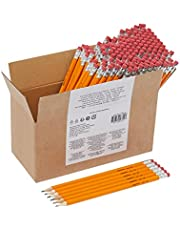 AmazonBasics Pre-sharpened Wood Cased #2 HB Pencils