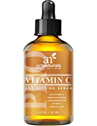Art Naturals Vitamin C Serum 20% w/Hyaluronic Acid &...