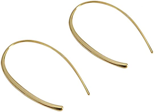 Minimalist Big Heart Dainty Hoop Earrings for Women Girls Sensitive Ear Fashion Thin Huggie Hoops Love Jewelry