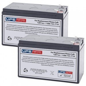 New batteries for APC J35B APC J35B 8-Outlet J-Type Power Conditioner with Battery Backup