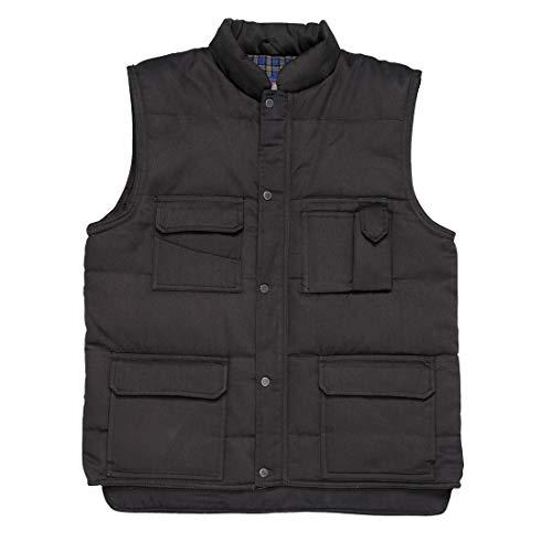 Portwest US414BKRXL Regular Fit Shetland Bodywarmer Vest,