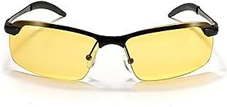 ShopSquare64 Mens UV400 Ciclismo Guida Notturna polarizzata Occhiali da Vista Occhiali da Sole