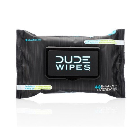 Dude Wipes DW-CE-6 Dude Wipes Dispenser Pack44; 48 Count by Dude Wipes