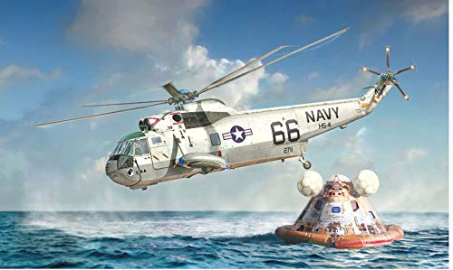 Italeri ITA1433 1:72 SH-3D Sea King Apollo Recovery [Moon Landing 50th Anniversary] [Model Building KIT]