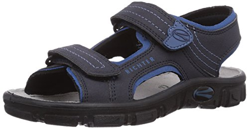 atlantic Garçon 8101 Adventure Richter Bleu 521 7201 pacific Sandales Blau T0UqaxOFw