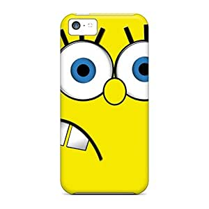 New Style ConnieJCole Sponge Bob Premium Tpu Cover Case For Iphone 5c