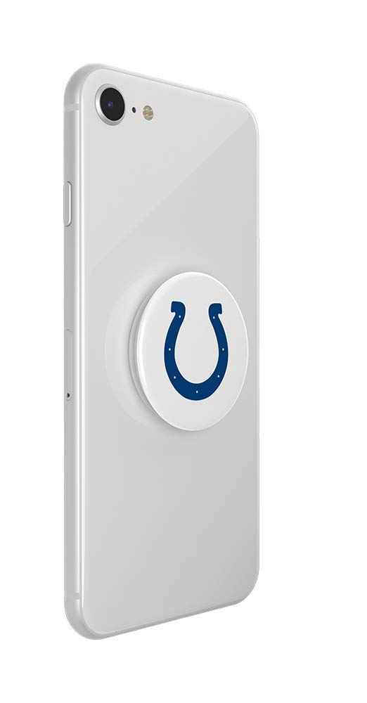 Indianapolis Colts Helmet PopSockets NFL PopGrip with Swappable Top for Phones /& Tablets