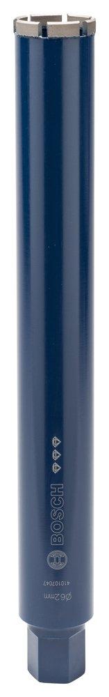 Bosch 2608601361Diamantnassbohrkrone Wasser diamantiert 11/4UNC Best for Concrete 62mm 450mm 6Segmente 11,5mm