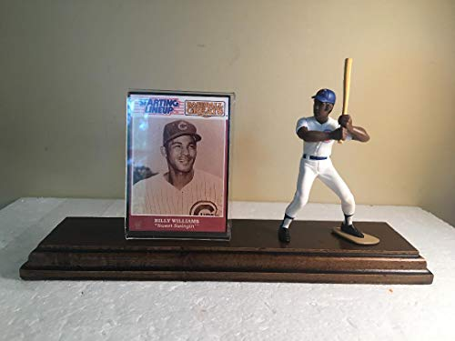 Billy Williams Chicago Cubs Starting Lineup Figure Custom Made Wood Plaque ()