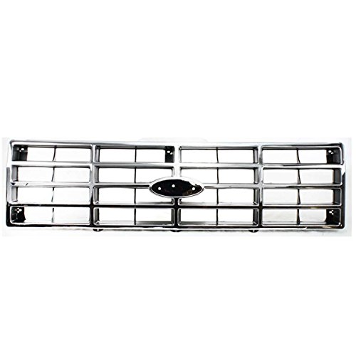 - Koolzap For 80-86 F-Series Pickup Truck Front Grill Grille Assembly Chrome Shell E3TZ8200G