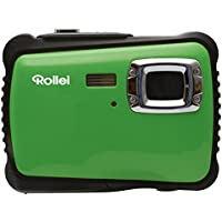 Rollei Sportsline 64 Digital Camera - Waterproof up to 3 m, 9 Shooting modes, 8x Zoom, Adjustable white balance - Green