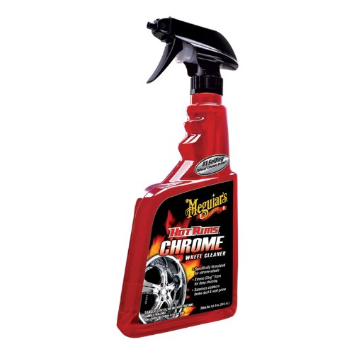 Meguiar's G19124 Hot Rims Chrome Wheel Cleaner - 24 oz.