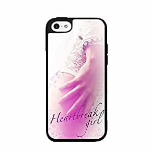 Heartbreak Girl 2-Piece Dual Layer Phone Case Back Cover iPhone 4 4s