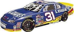 Action Collectibles - Lowes Racing - Mike Skinner #31 - 1/24 NASCAR Diecast Scale Stock Car - 2001 Monte Carlo by Lowe's