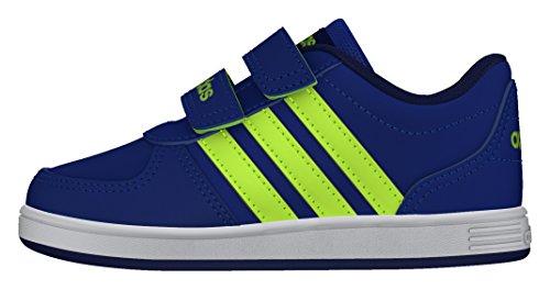 adidas Vs Hoops Cmf Inf, Zapatos de Bebé (1-10 Meses) para Bebés Azul (Azul / Amasol / Tinuni)
