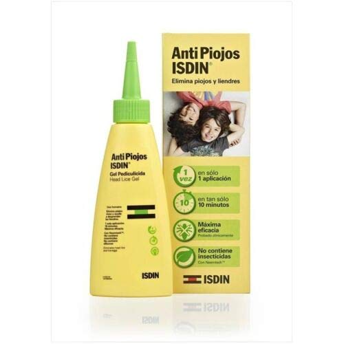 Lice ISDIN Effective Natural Treatment for lice and nits 100ml Skin Treatment by Skin Treatment