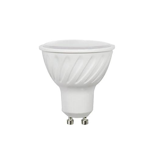 Wonderlamp W-B000036 - Bombilla LED COB alta potencia GU10 Cristal Mate , 6.2 W