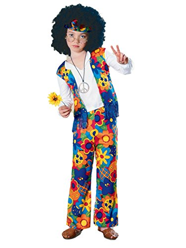 Big Boys' Hippie Costume - S -
