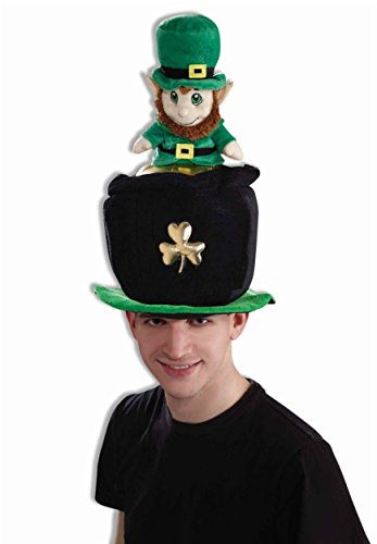 Forum St. Patrick's Day Costume Party Leprechaun Pot Of Gold Hat, Multi-Colored, One Size -