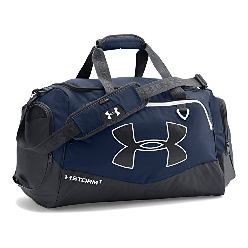Under Armour Storm Undeniable II Duffle, Midnight Navy/White, One Size (Storm Shoulder Bag)