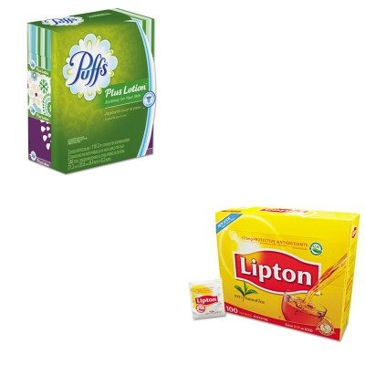 KITLIP291PAG82086 - Value Kit - Procter amp; Gamble Professional Plus Lotion Facial Tissue (PAG82086) and Lipton Tea Bags (LIP291)