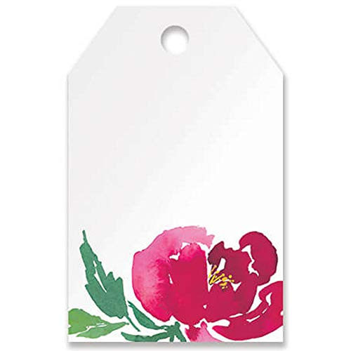 Watercolor Garden Printed Gift Tags - 3 1/2 x 2 1/4in. (50)