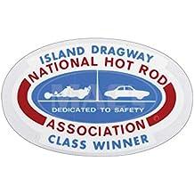 MACs Auto Parts 42-48832 Decal - Island Dragway NHRA Class Winner - Window