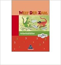 Welt Der Zahl 3 Arbeitsheft Mit Cd Rom Nord Ausgabe 2005