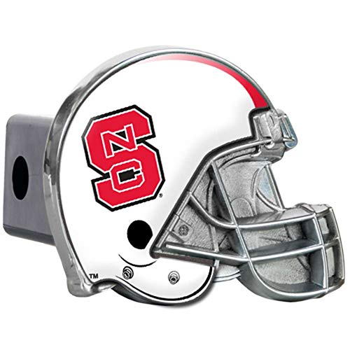 (NCAA North Carolina State Wolfpack Metal Helmet Trailer Hitch Cover )