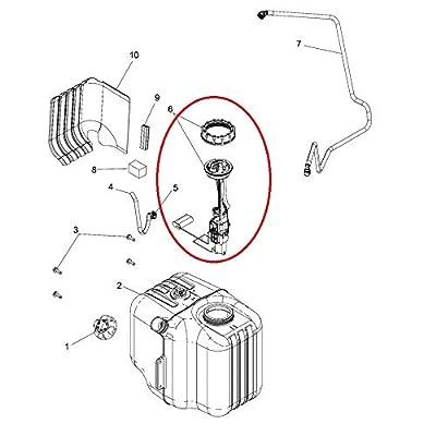 Fuel Pump Assembly For 2014-2020 Polaris Ranger 500 570 800 RZR 570 Sportsman 550 850 2204852, 2204945: Automotive