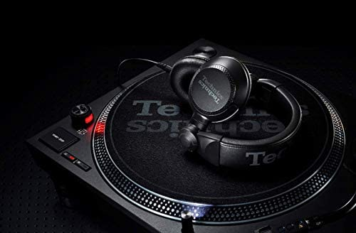 Technics EAH-DJ1200EK - Auriculares DJ (Bloqueo de Cable, Drive de ...